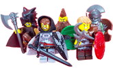 Minifigure Accesory Banner